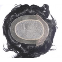 "Royal Mirage Front lace Men Hair Patch 9""x6"""