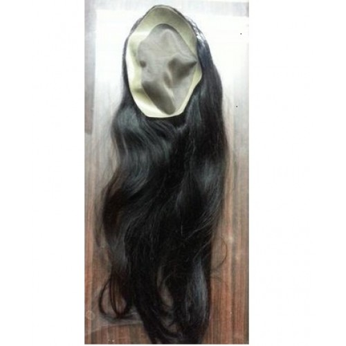 "Ladies Hair Patch (Size 7x5) Hair Length 28""-29"""