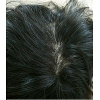"Silk skin base Mens Toupee/ Gents Wig 8""x6"""